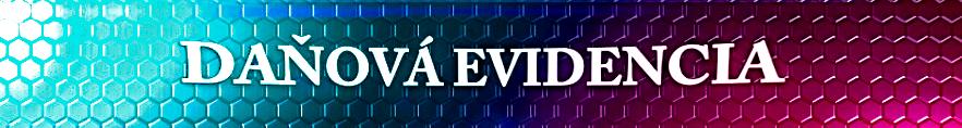 Formulár – Daňová evidencia