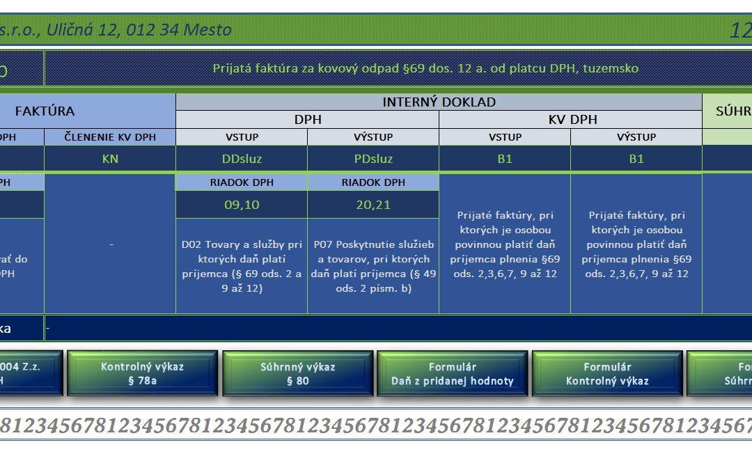 Členenie DPH a KV DPH – pomôcka pre používateľov Pohody